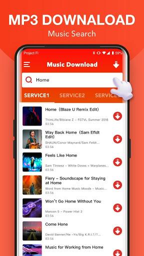 تحميل الموسيقى الحرة   تنزيل الموسيقى MP3   أغاني 1 تصوير الشاشة