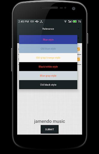 حمل موسيقى mp3 JAMENDO 9 تصوير الشاشة