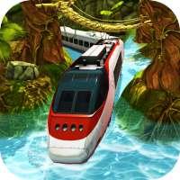 Water Surfer Bullet Train Games Simulator 2020 on 9Apps