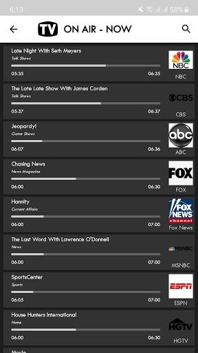 TV USA Free TV Listing Guide 2 تصوير الشاشة