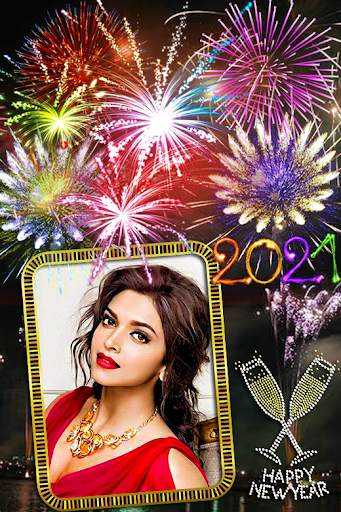 New year photo frame 2021 screenshot 6