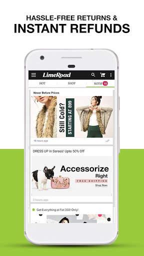 LimeRoad Online Shopping App for Women, Men & Kids screenshot 5