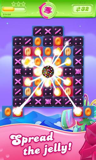 Candy Crush Jelly Saga screenshot 1