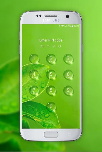 Lock screen - water droplets screenshot 5