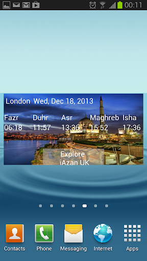 iAzan Prayer Time Mosque Qibla screenshot 1