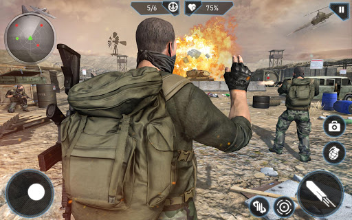 Anti Terrorism New Shooting Games 2021 screenshot 2