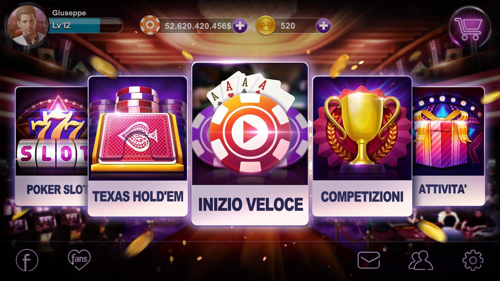 Poker Italia – Artrix Poker 5 تصوير الشاشة