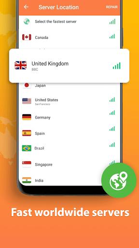 Turbo VPN Lite - Free VPN Proxy Server & Fast VPN screenshot 3