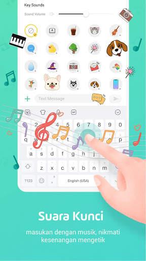 Facemoji Emoji Keyboard-Emoji Lucu,Stiker,Tema,GIF screenshot 3