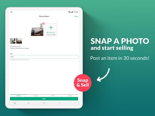OfferUp: Buy. Sell. Letgo. Mobile marketplace screenshot 7