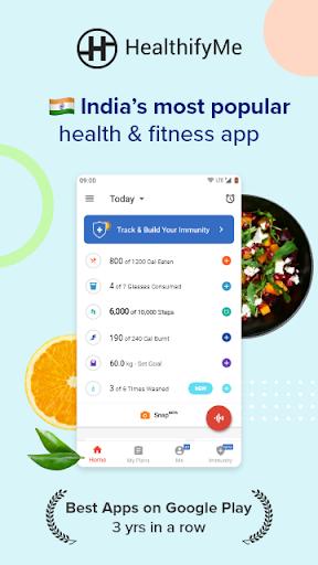 Calorie Counter, Diet Plan, Dietitians, Trainers 1 تصوير الشاشة