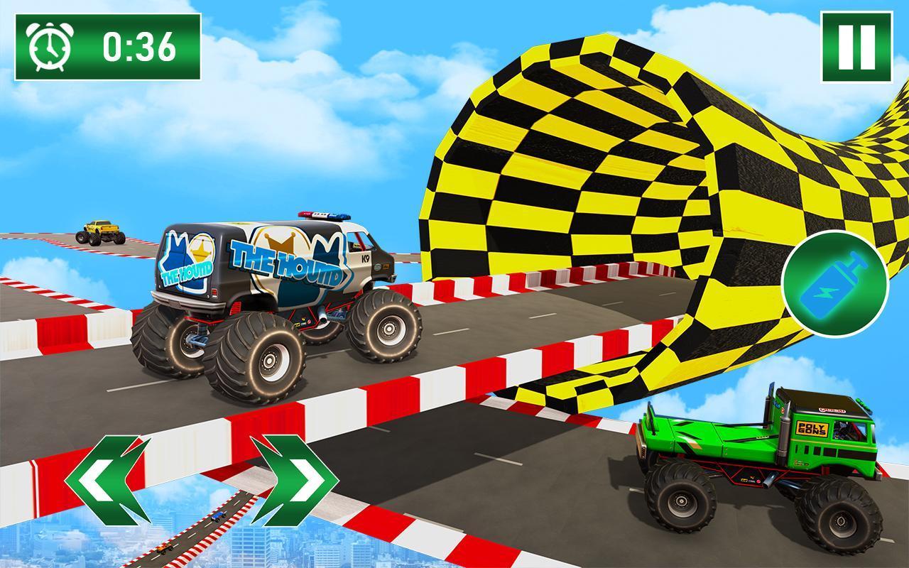 Monster Truck on Impossible Tracks screenshot 4