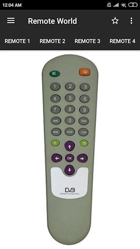 DD Free Dish Remote Control (36 in 1) screenshot 1