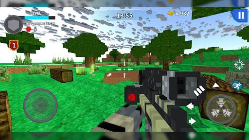 Cube Wars Battle Survival 3 تصوير الشاشة
