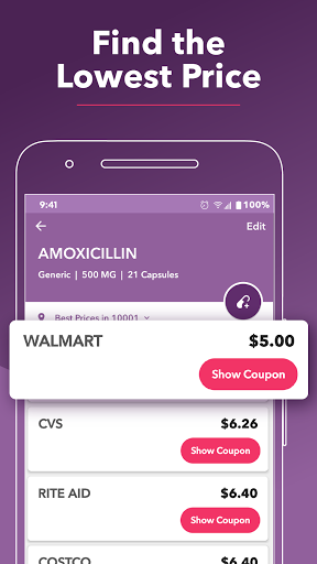 RxSaver – Prescription Drug Discounts & Coupons 4 تصوير الشاشة