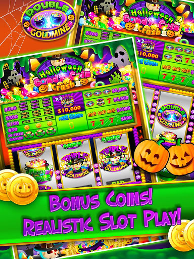 Halloween Candy Vegas Slots Mega Slot Machine FREE screenshot 4