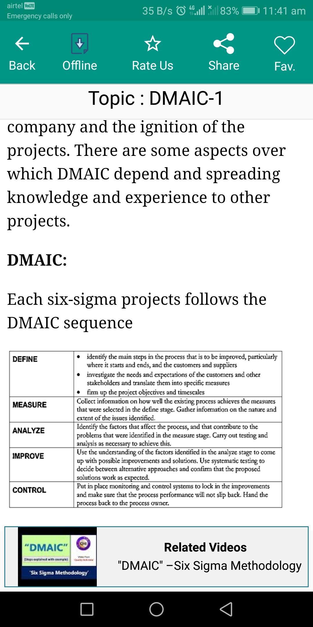Learn Six Sigma: Engineering screenshot 6