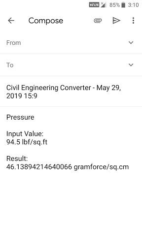 Civil Engineering Converter screenshot 8