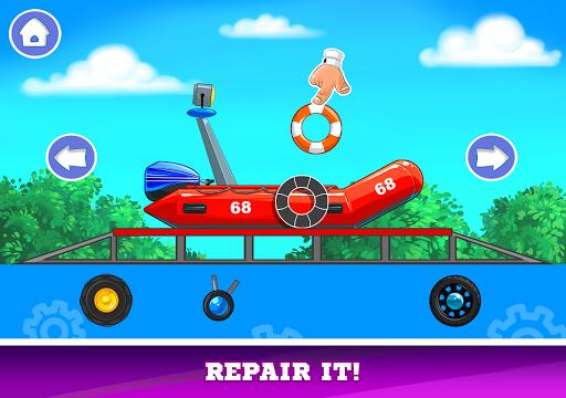 Kids Cars Games! Build a car and truck wash! screenshot 19