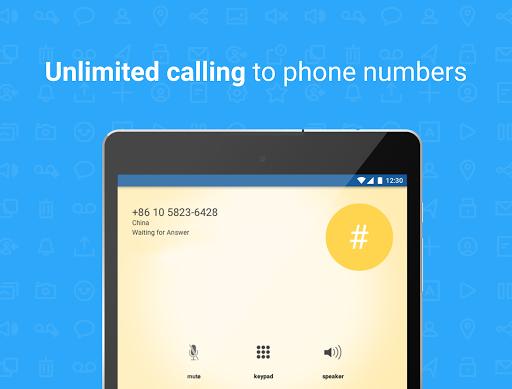 Talkatone: Free Texts, Calls & Phone Number screenshot 8