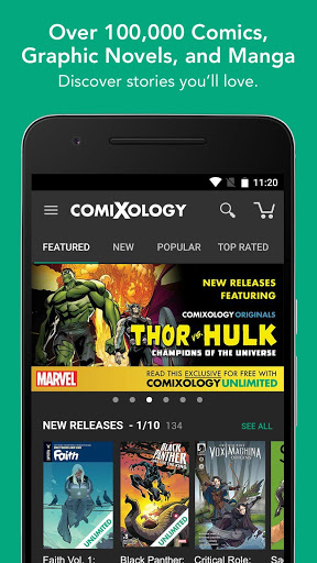 Comics screenshot 1