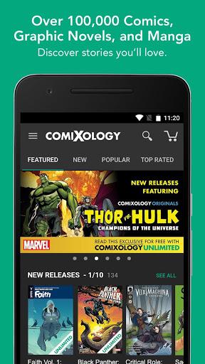 Comics 1 تصوير الشاشة