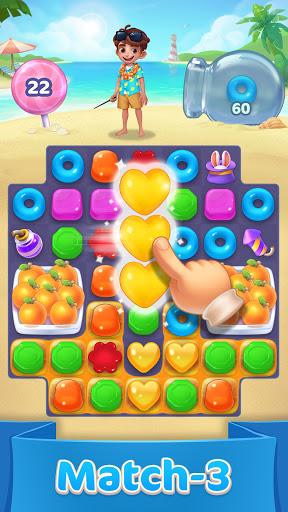 Jellipop Match-Decorate your dream island! screenshot 2