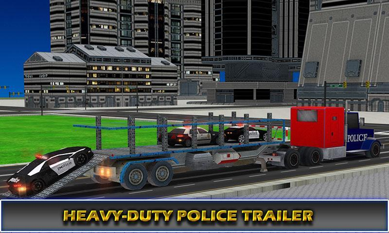 US Police Airplane Cop Dog Transporter Kids Games screenshot 7