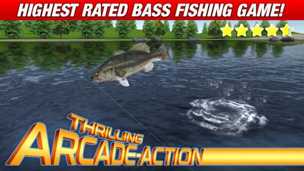 Master Bass Angler: Free Fishing Game screenshot 1
