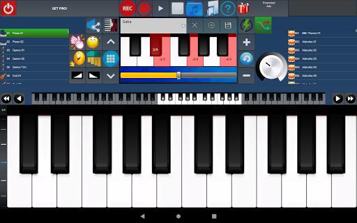Portable ORG Keyboard 13 تصوير الشاشة