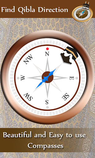 Qibla Compass - Find Direction screenshot 1