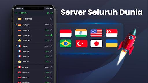 3X VPN - Berselancar dengan aman, Boost screenshot 3