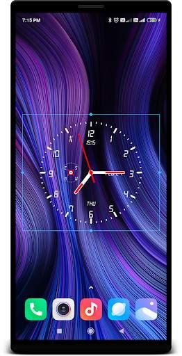 Clock Live Wallpaper screenshot 4