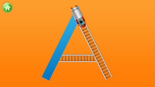 Learn Letter Names and Sounds with ABC Trains screenshot 2