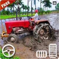 Village Tractor Driver 3D Farming Game on 9Apps