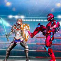 Robot Ring Fighting-Superhero Robot VS Real Robot on 9Apps