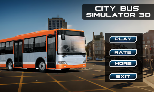 City Bus Simulator 3D screenshot 1