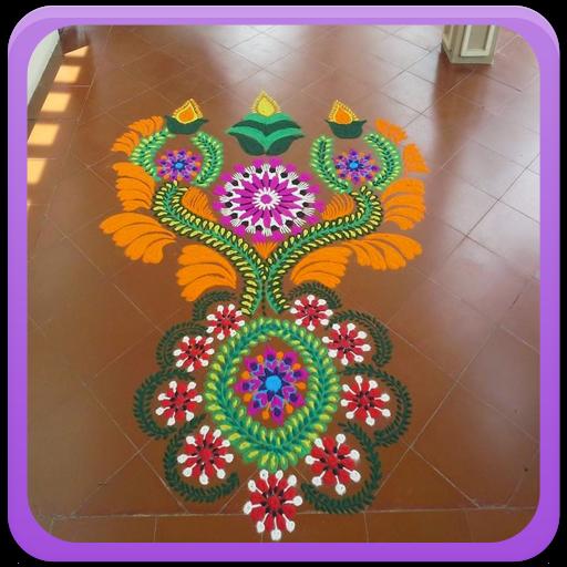 Rangoli For Diwali Gallery icon
