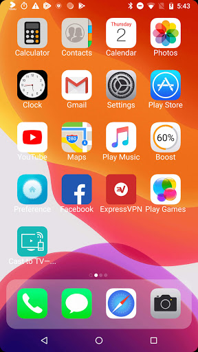 iLauncher X - new iOS theme for iphone launcher screenshot 2