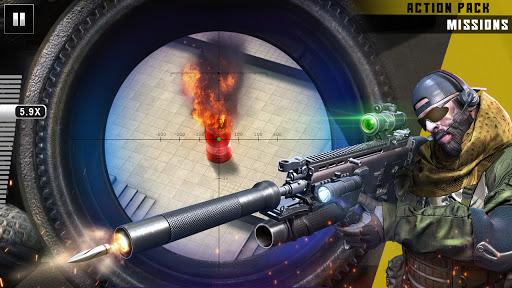 नया निशानची बंदूक खेल 2020 - शूटिंग खेल स्क्रीनशॉट 1