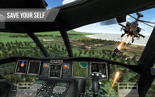 Army Gunship Helicopter Games 3D: Joycity Battle screenshot 3