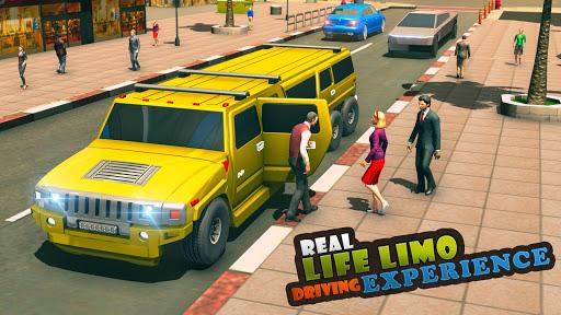 Big City Limo Car Driving Simulator : Taxi Driving 1 تصوير الشاشة
