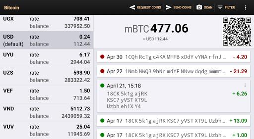 Bitcoin Wallet 9 تصوير الشاشة