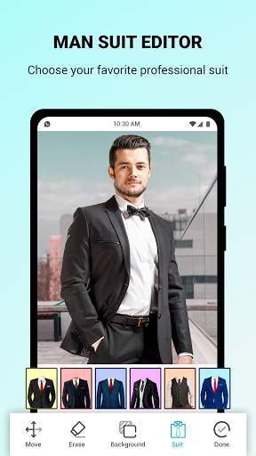 Man Suit Photo Editor screenshot 7