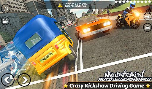 Mountain Auto Tuk Tuk Rickshaw Novos Jogos de 2020 screenshot 1