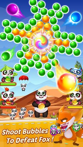 Bubble Shooter Free Panda 3 تصوير الشاشة