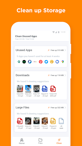 ASTRO File Manager & Storage Organizer screenshot 1