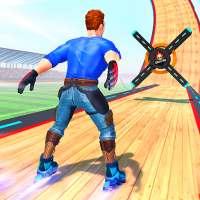 Sky Roller Skate Stunt Games 2021 - Roller Skating on APKTom