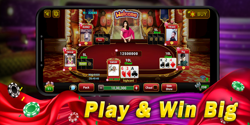 Universal Teen Patti - Indian Poker Game screenshot 2