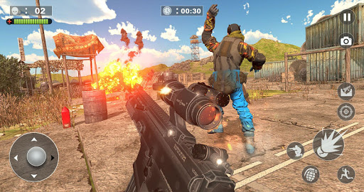 Free Firing Commando - Counter Attack FPS 2019 screenshot 3